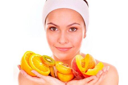 Пилинг - скатка с фруктовыми кислотами