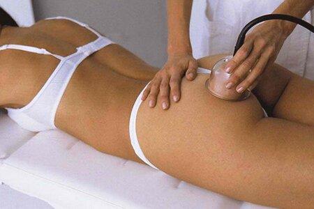 Вакуумный аппаратный массаж для борьбы с целлюлитом