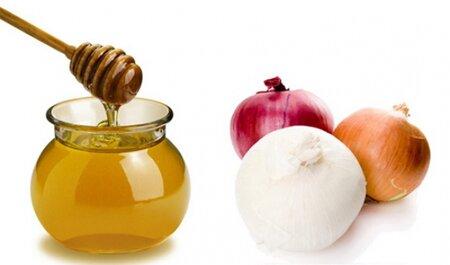«Лепешки» из лука и меда