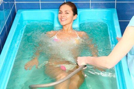 Подводный душ-массаж – это не только приятно, но и очень полезно