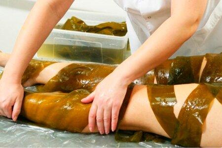 Холодное водорослевое обертывание