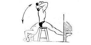 Упражнения для пресса с гантелями