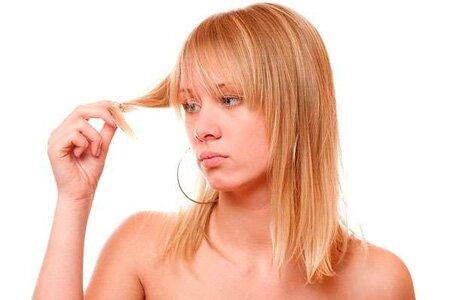 Выпадение волос из-за проблем со здоровьем