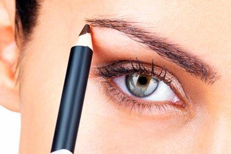 Как выполнить макияж бровей