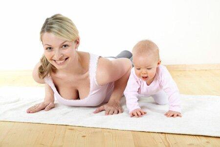 Самые эффективные физические упражнения после родов