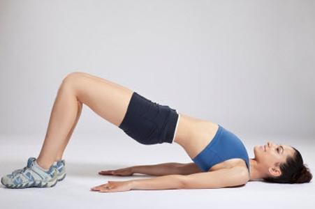 2 упражнение – поднятие таза