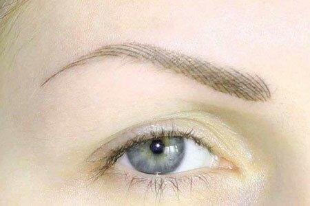 Перманентный макияж волосковой техникой