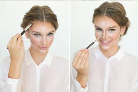 Коррекция овала лица с помощью макияжа