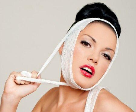 Противопоказания к использованию компрессионных повязок для подтяжки овала лица