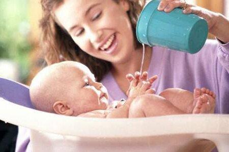 Закаливание детей водой дома и на улице