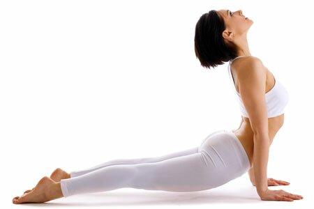 Упражнение «Собака мордой вверх» (из йоги)