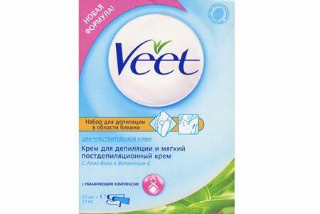Крем для депиляции интимных зон Veet – идеальная кожа без проблем