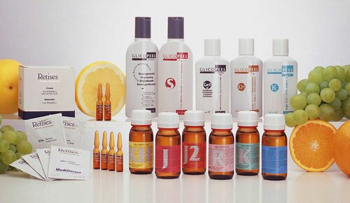 Как проводится химическая чистка лица